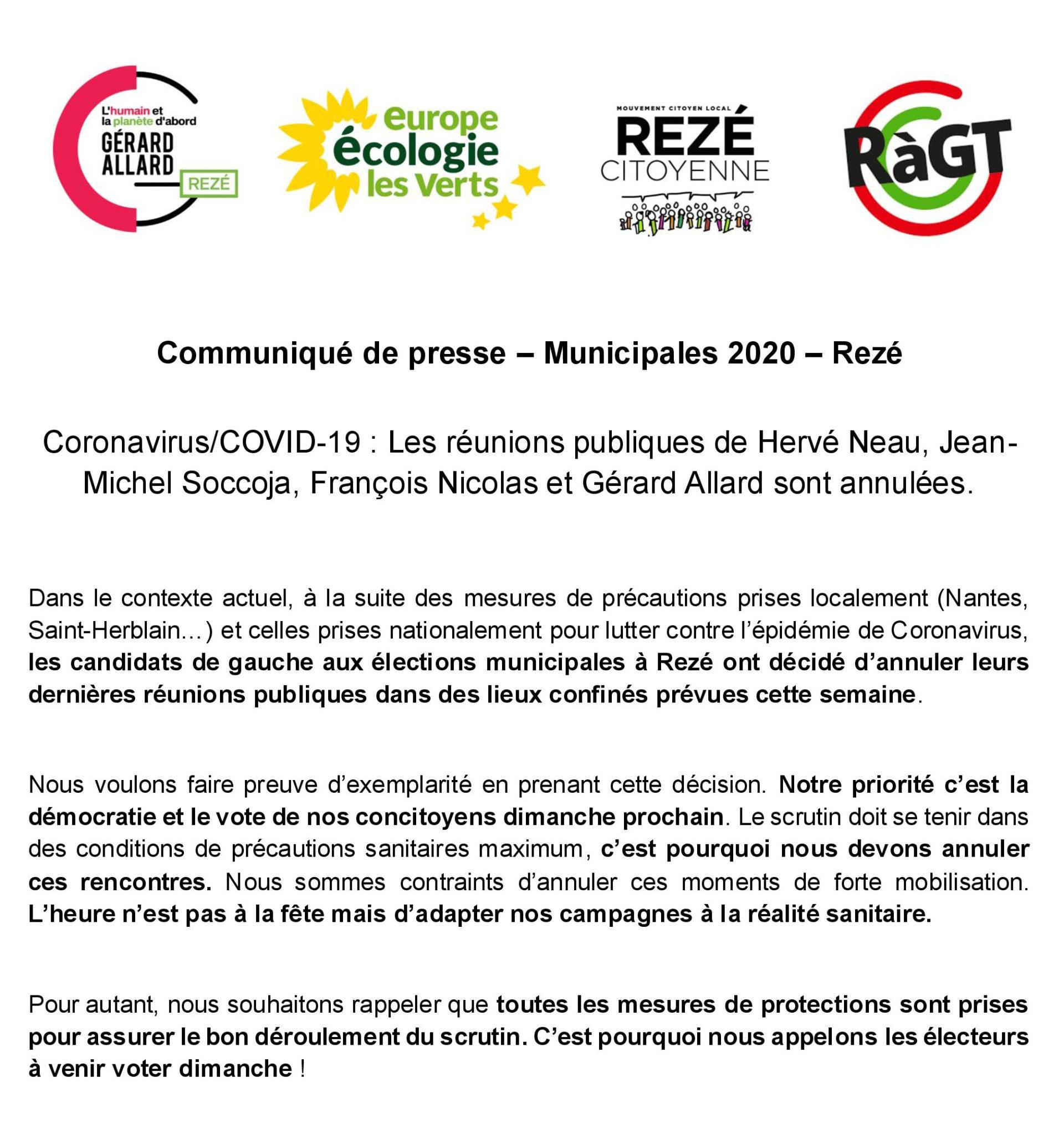Réunion 12 mars Rezé Citoyenne