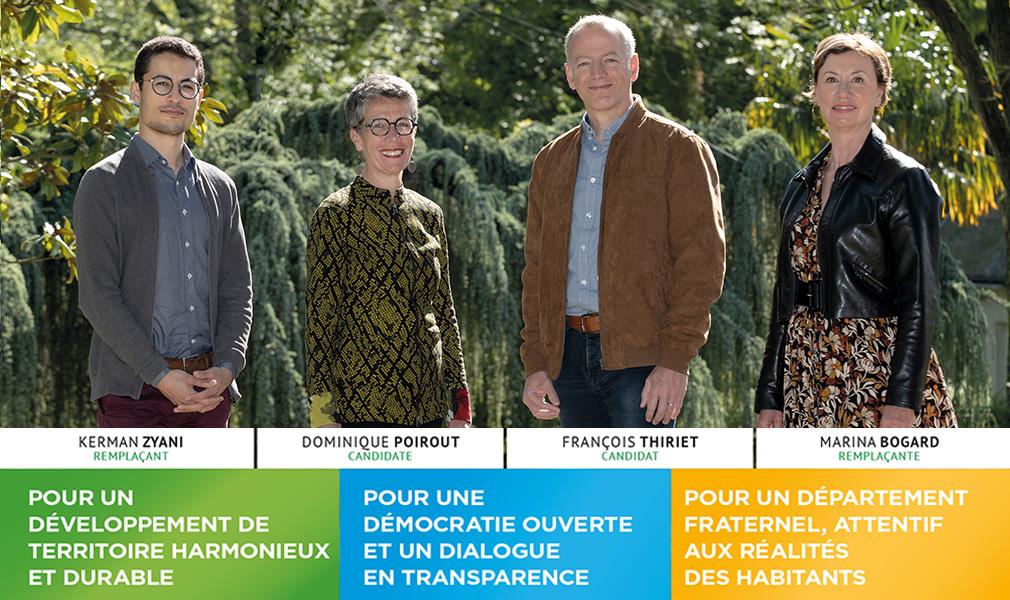 Canton Rezé 2 élections départementales 2021 Rezé Citoyenne